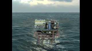 Conheça Virtualmente uma Plataforma Offshore (Oil Rig Simulator with 3DVI)