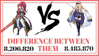 Grand Chase -Difference Between OLIVIA/ ELESIS at Dimensional Boss