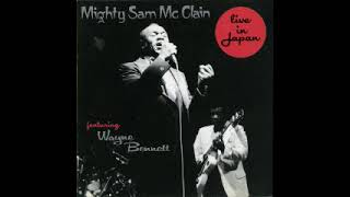 Mighty Sam McClain - Live In Japan. 1986