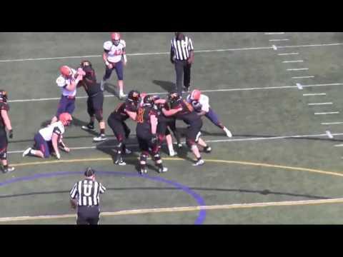 Gettysburg College Football vs. Ursinus Highlights