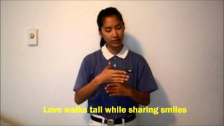 """Give Love"" (English) from Tzu Chi Selection"