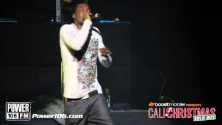 """Meek Mill Performs """"Amen"""" at Sold Out Cali Christmas 2012"""
