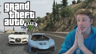 W2S Plays GTA 5 - WHITE CARS CANT JUMP - GTA 5 Funny Moments