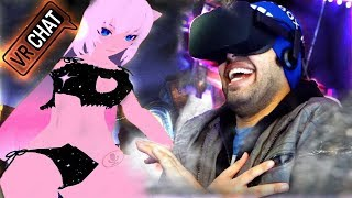 Top 10 Funny Moments: VR Anime Girls, Johnny Bravo & more! (VRChat: Virtual Reality)