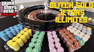 GLITCH SOLO JETONS INFINI GTA 5 ONLINE