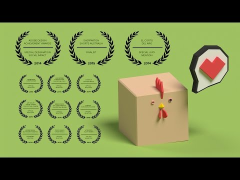 Chicken Cube - The Perfect Chicken For Animal Husbandry (3D Animation)