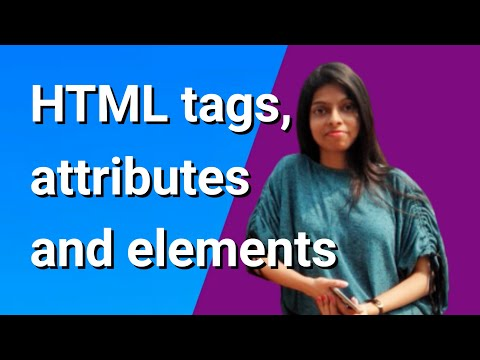 HTML Tags Attributes And Elements (with Example)