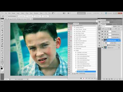Photoshop - Apply an Action to Multiple Photos