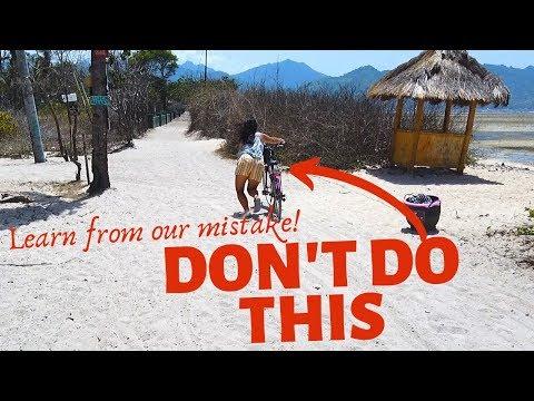 Gili Air Lombok Indonesia // Bicycles are useless!