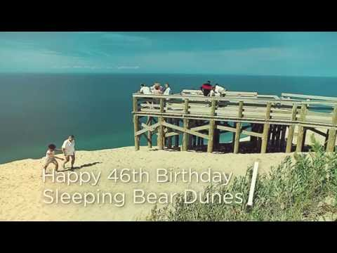 Sleeping Bear Dunes Celebrates 46 years as a National Park
