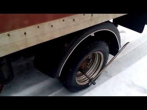 Газель .Осторожно !!! Заднее колесо.информация для начинающих Gazelle Rear Wheel ... Especially Dual
