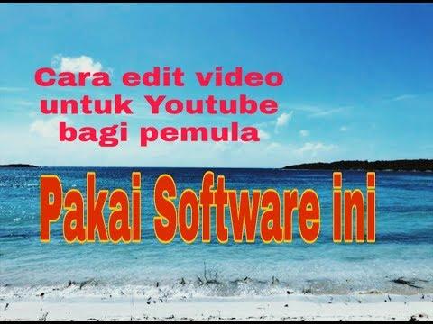Tutorial instal software Filmora9 edit video tanpa ada watermark thumbnail
