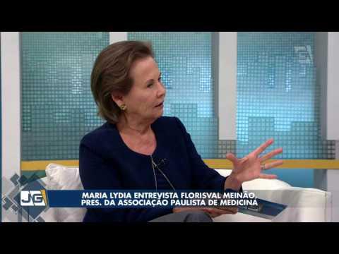 Maria Lydia entrevista Florisval Meinão, pres. da Associação Paulista de Medicina