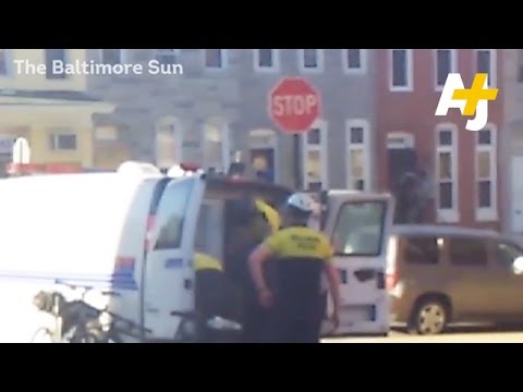 New Footage Of Freddie Gray Arrest Emerges As Six Officers Are Indicted