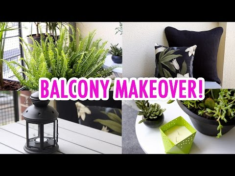 Julia's Balcony Makeover! - HGTV Handmade