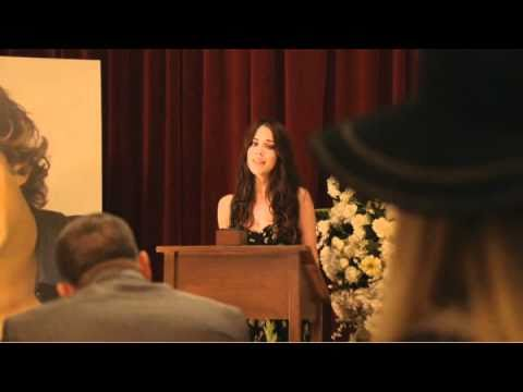 Adrianna Tate-Duncan sings at Javier Luna's funeral!