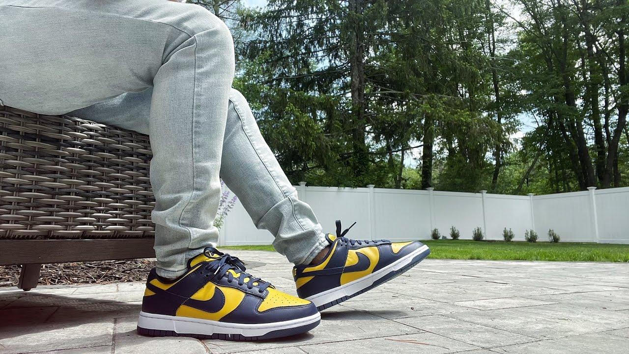 Nike Dunk Low « Michigan »