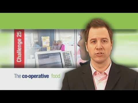 Training video for Co-operative food stores