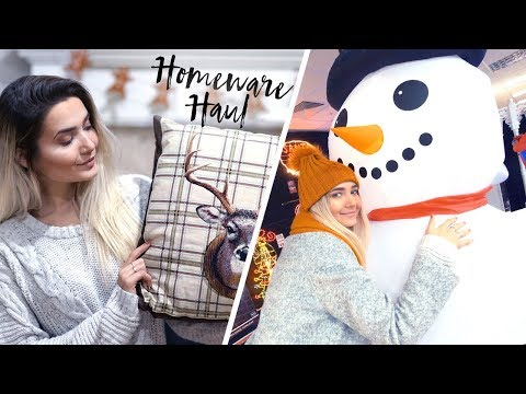 HOMEWARE HAUL + CHRISTMAS SHOPPING! MOVING VLOG #5