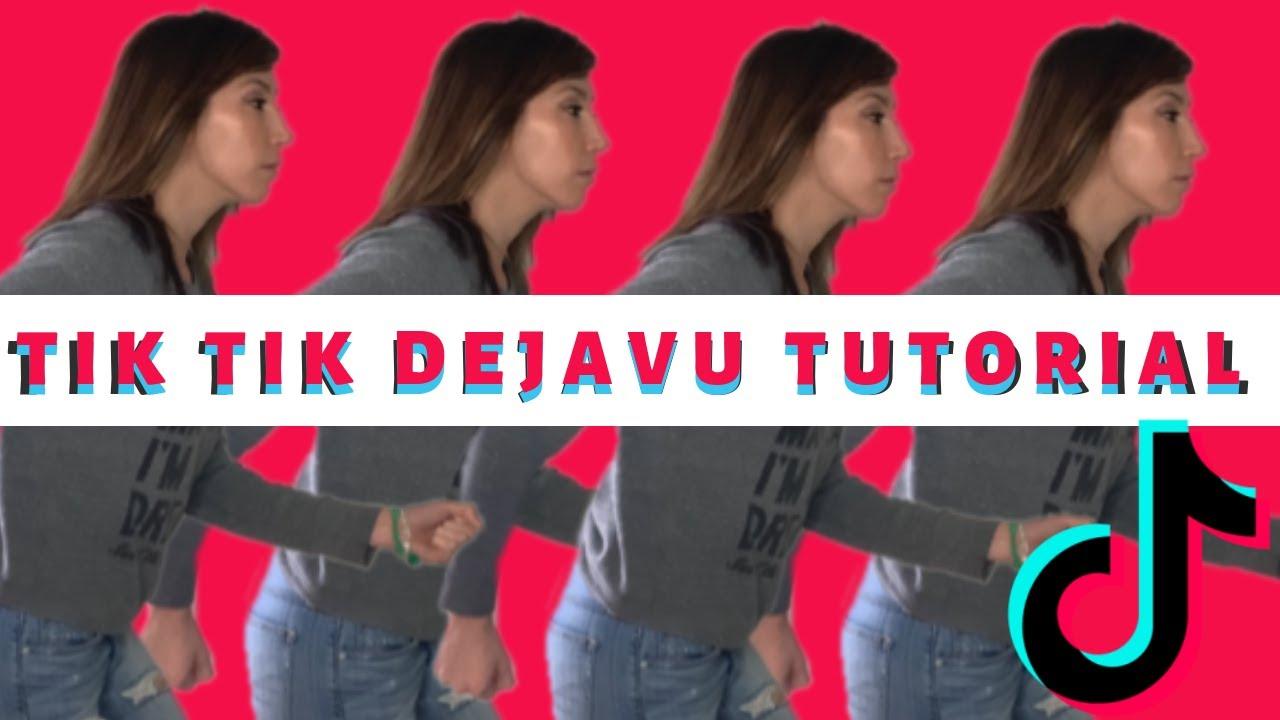 Dejavu Mirror Running Challenge I Tik Tok Tutorial 2019 I Dejavu Mirrormoves Youtube