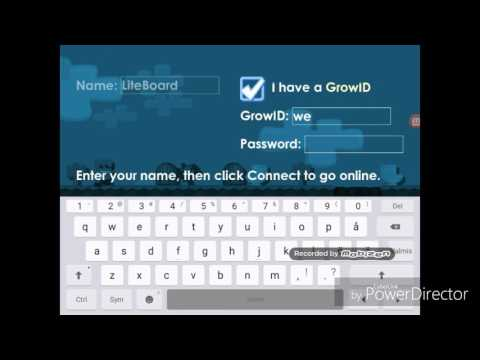 Free Accounts Growtopia 2017 (NO BANNED)