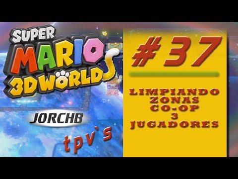 Super Mario 3D World | Parte 37 - Las chicas se quedan solas!