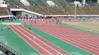 2016年度 兵庫陸上秋季記録会 男子100m2組(+0.7)