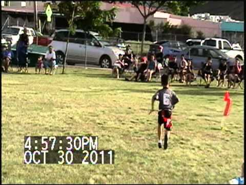 6u flag football player hawaii
