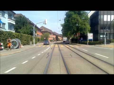 VBZ/VBG ZÜRICH TRAM - Linie 10: Zürich Flughafen ✈ - Bahnhofplatz|HB