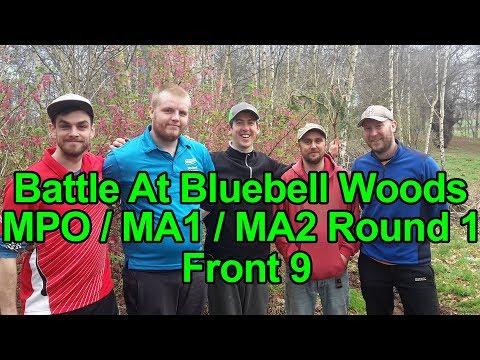 Battle At Bluebell Woods 2018 - Round 1 Front 9 - Schmidt O'Brien Rögnvaldsson Jackson Hodgson