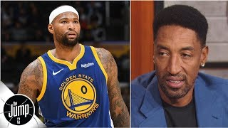 Boogie Cousins' game is 'impeccable' except for conditioning - Scottie Pippen | The Jump