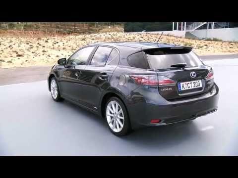 Lexus Ct200h Driving Footage Interior Youtube