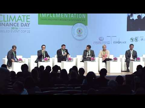Climate Finance Day 2016 - Panel 3