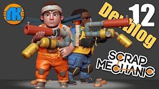 ДЕВБЛОГ 12 \ ПОЛНЫЙ ОБЗОР \ Scrap Mechanic \ GAME FREE DOWNLOAD \ СКАЧАТЬ СКРАП МЕХАНИК !!!