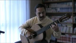 SOR STUDY NO. 4 (Op. 6, No. 1)- Classical Guitar.