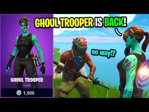 Telling Kids The Ghoul Trooper Is BACK In The Item Shop On Fortnite... (I LIED!)