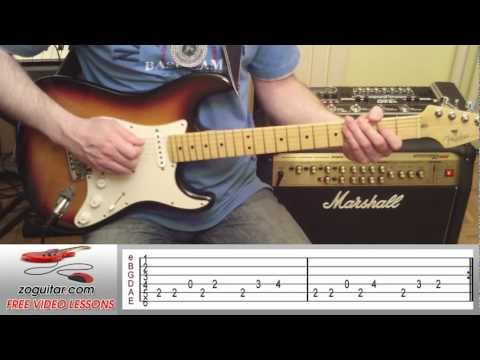 How To Play Hey Bulldog by The Beatles on Guitar (intro riff) + TAB
