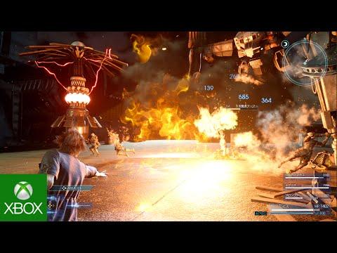 Niflheim Base Battle Footage – Final Fantasy XV