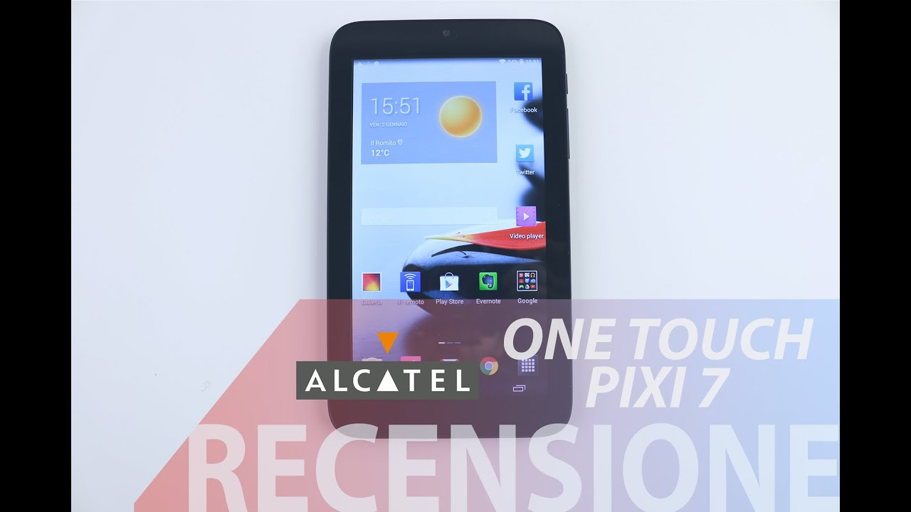 tablet alcatel one touch pixi 7 flash firmware cm2 mtk - YouTube