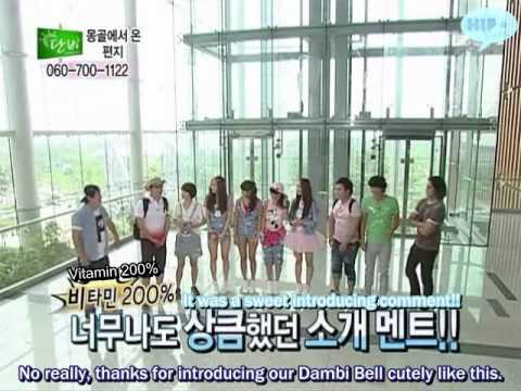 [ENG SUBS] 100704 D@nb! - SISTAR cut