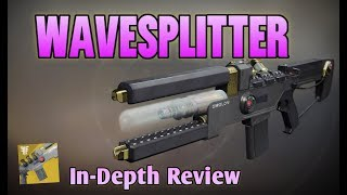 NEW WAVESPLITTER EXOTIC TRACE RIFLE! Destiny 2 In-Depth Weapon Review (My First Forsaken Exotic)