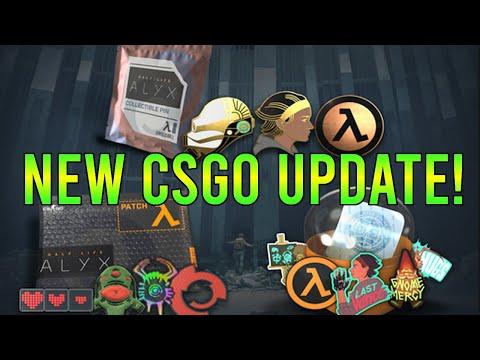 [NEW] CS:GO Half-Life Alyx Pin U0026 Sticker Case Opening!