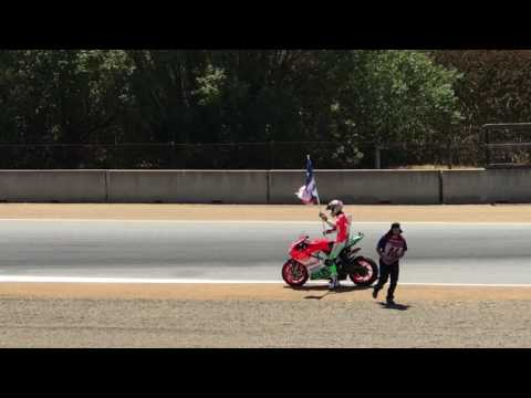 Chaz Davies tribute to Nicky Hayden