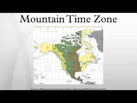Mountain Time Zone