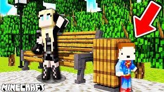 ONA NIGDY MNIE NIE ZNAJDZIE na CHOWANYM!! - Minecraft Hide and Seek