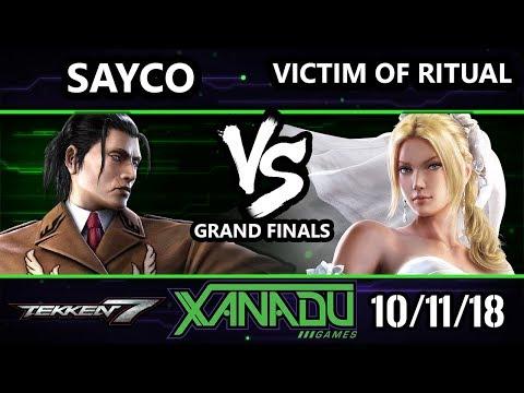 F@X 271 T7 - VATR | Sayco [L] (Dragunov) Vs.  TCOL | Victim of Ritual (Nina) Tekken 7 Grand Finals