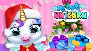 Yay, #Christmas is coming! Your pocket friend - cute baby unicorn -...