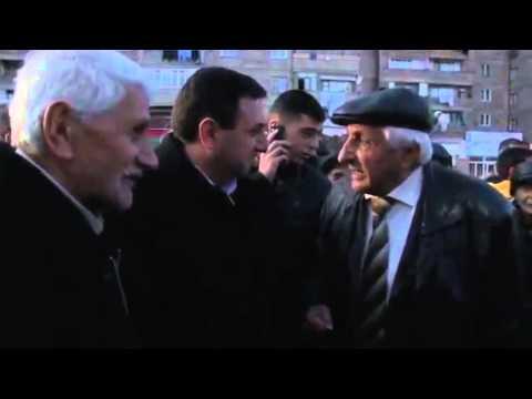 Վանաձորցի պապիկը ջախջախում է ՀՀԿ–ի Այո–ն