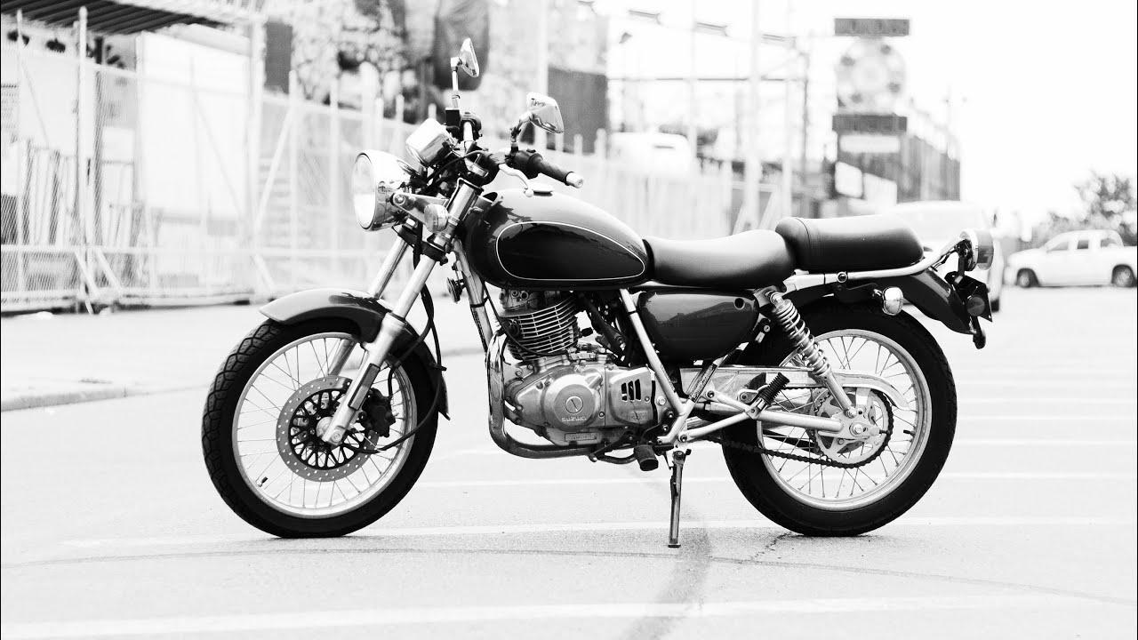 tu250x suzuki motorcycle, new york to new jersey - youtube