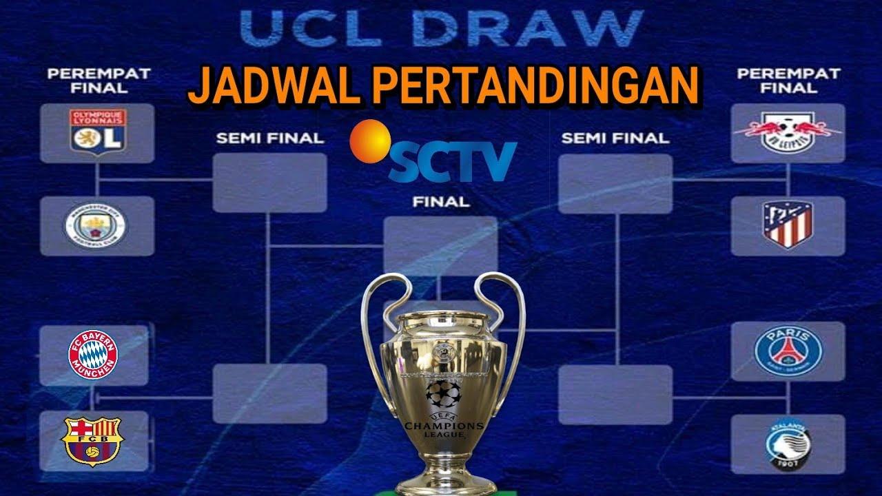 Jadwal Liga Champions Live Sctv 2020 : Jadwal Liga ...